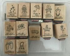 Stampin' Up Retired Wood Mounts All $3.95! Take your pick! Most barely used**