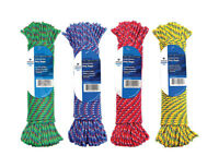 Wellington  3/16 in. Dia. x 100 ft. L Diamond Braided  Poly  Rope  Assorted