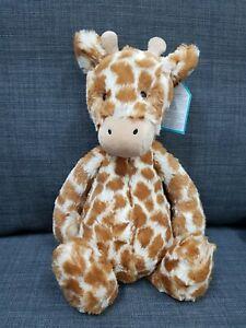 Kids Soft Toy - Jellycat Bashful Giraffe Medium- Baby Kids Birthday Present!