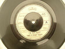 JAMES & BOBBY PURIFY I'M YOUR PUPPET / LAY ME DOWN EASY...... 45rpm / soul