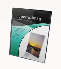 """8.5x11"""" Clear Sign Holder Literature Display Menu Holder Picture Photo Frame"""