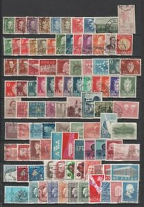 Norway 520+ Different Used Stamps to 2004 - 5 Scans