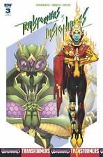 Transformers Vs Visionaries #3 1:10 Brendan Cahill Variant Comic Book IDW NM