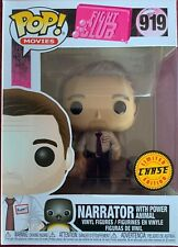 Funko - Pop Movies: Fight Club- Tyler Durden Narrator #919 Limited Chase Edition
