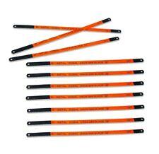 "10 PC 12"" Bi Metal Cobalt Hacksaw Blades 18, 24 & 32 TPI Teeth Saw Blade"