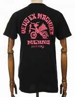 Deus Ex Machina Devil Milano Address Tee - Black