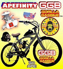 "66cc/80cc 2-Stroke Motorized Bike Kit And 26"" Multispeed Bicycle Diy Motor Bike"