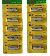 Raccomandata P. - 10x Pile Batterie Alcaline 12V LRV08 GP23 MN21 V23GA LR23A L10