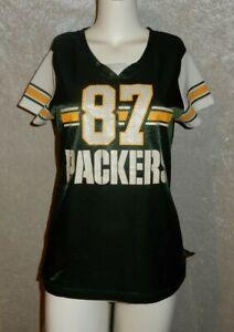 Woman's NFL Team Apparel Green Bay Packers #87 Jordy Nelson Jersey size M Medium