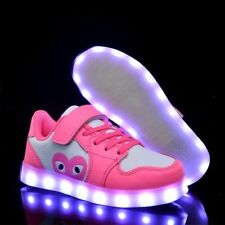 Size 25-37 Children Glowing Sneakers Led Luminous Shoes For Boys Girls