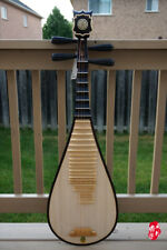 DUNHUANG Pipa, Chinese Lute - Professional Rosewood Pipa With Case - 敦煌專業铁梨木琵琶