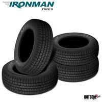 4 X New Ironman Radial A/P 245/65R17 107T Performance All-Season Tire