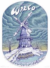 Emek Wilco Paradiso Amsterdam 2005 Limited Edition Silkscreen Poster
