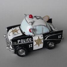 Spardose Polizeiauto US Police Car Polizei Sheriff Streifenwagen Sparschwein NEU