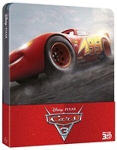 Cars 3 (Blu-Ray 3D + Blu-Ray Disc - SteelBook) (Pixar)
