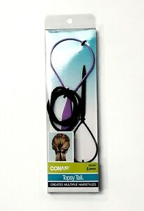 Conair Topsy Tail 5pc All In One Styling Kit Set W/ Topsytail Jr + 3 Elastics
