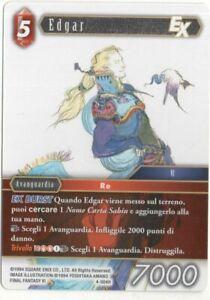 Final Fantasy TCG Edgar Opus IV 4-004H ITA Mint