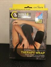 Series 8 Fitness Hot & Cold Therapy Wrap Adjustable Relieve Soreness pain Gel Pk