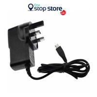 "3 PIN UK MAINS MICRO USB WALL PLUG CHARGER FOR SAMSUNG GALAXY TAB 4 7.0"" T230"