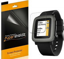 6X Supershieldz Anti Glare (Matte) Screen Protector Film Saver For Pebble Time
