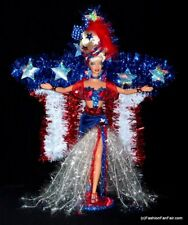 *WOW* Beautiful~MISS LIBERTY~4th of july OOAK Barbie Show Girl Doll by FFF
