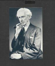 Nostalgia Postcard Philosopher Bertrand Russell 1951