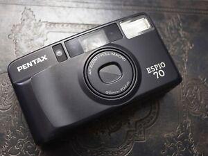 TESTED Pentax Espio 70 Zoom Full Macro Film Compact Camera