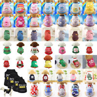 Knitwear Pet Dog Sweater Vest Cat Jumper Winter Puppy Knitted Coat Pet Clothes