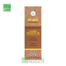 Khadi 10 Herbs Cellulite Oil Ayurvedic Restorative Oil For all skin types 100ml