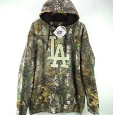 LA DODGERS CAMO HOODIE REALTREE BY STITCHES MLB MENS USA SIZE L