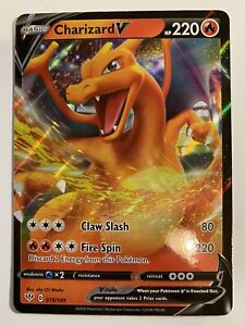 Pokemon Card CHARIZARD V Ultra Rare 019/189 DARKNESS ABLAZE *MINT* 19/189