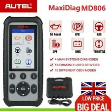 Autel MD806 OBD2 ABS SRS Code Reader Scanner Auto Diagnostic Tool Upgraded MD802
