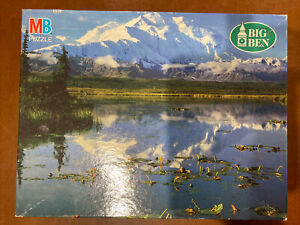 Big Ben MB 1000 Jigsaw Puzzle 'Mt McKinley,  Alaska' - NEW