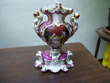 Porzellan Prunk Vase mit Figuren frühes 19.Jahrhundert !!