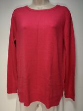 Knitwear by F&F Hot Pink Long Sleeve Jumper - Size 8 (448g)