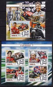 Schumacher Formule 1 - Senna Vette = Hamilton - Briefmarken - timbres MNH** F101