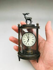 Chinese antiques Fengshui copper ware clocks and watches N424