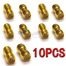 10pcs SMA female jack to SMA male jack Straight RF Connector Adapter