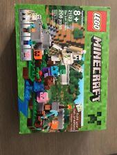 * New Sealed LEGO MINECRAFT The Iron Golem # 21123 (208 Pieces) Free Shipping *