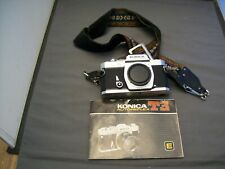 Konica Auto Reflex T3 35 MM Film Camera