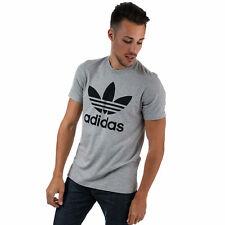 adidas Originals T-Shirt Original Trèfle Gris Homme