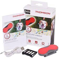 GPS-Tracker Thomson Haustiere Ortung in Echtzeit Hund Katze Pferd