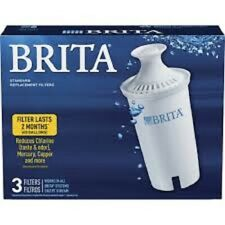 Brita Pitcher Replacement Filters (3 Individual Filters)
