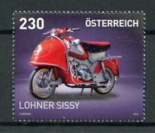 Austria 2019 MNH Lohner Sissy 1v Set Scooters Motorcycles Motoring Stamps