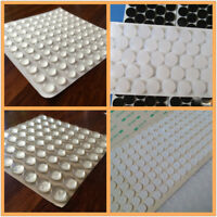 100PC Self Adhesive Rubber Feet Clear Semicircle Bumpers Door Buffer Pads