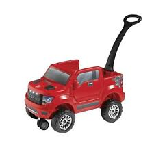 Red 2-In-1 Ford F150 Realistic Raptor Truck Kids Outdoor Fun Driving Car Playset