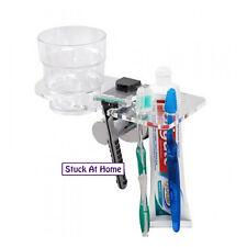 Naleon Stainless Steel Hygiene Station -Toothbrush Razor Cup Holder Shower