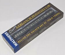 HO Walthers Baltimore & Ohio RR heavyweights passenger car train PULLMAN 8-1-2