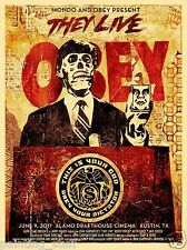 Obey Shepard Fairey They Live Mondo Amazing Silk Wall Poster 24x36