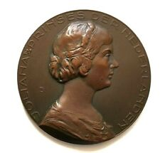328. PAYS-BAS - Médaille uniface - JULIANA PRINSES DER NEDERLANDEN
